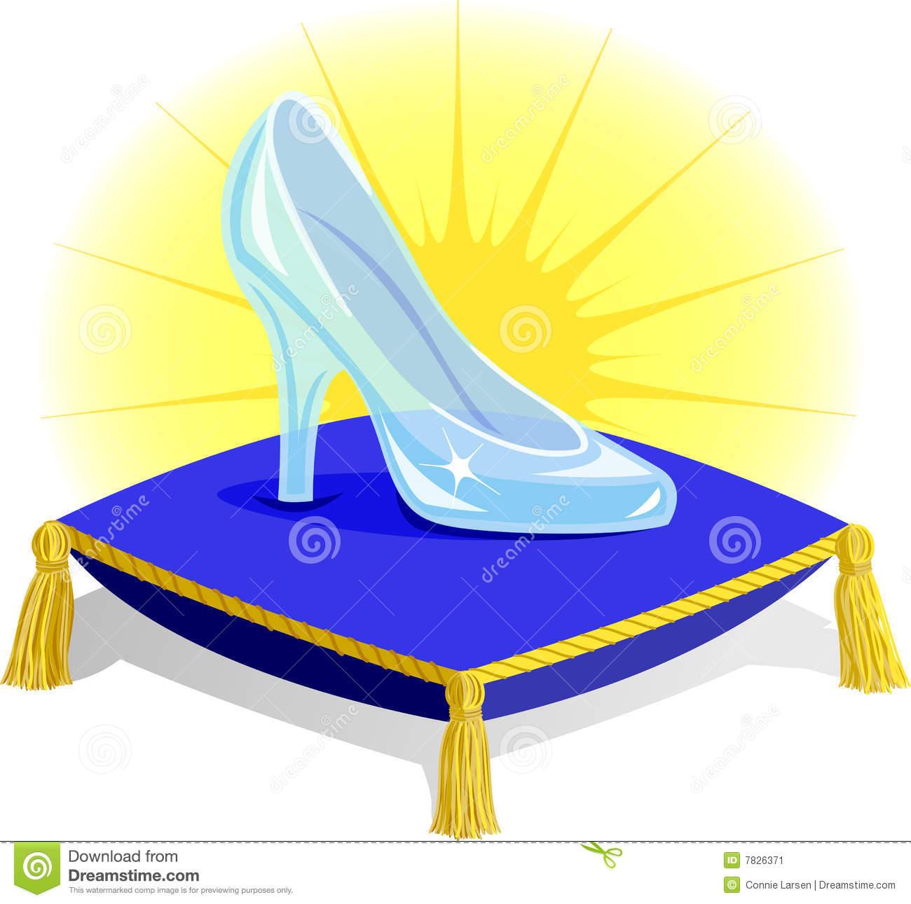 cinderella's glass slipper.