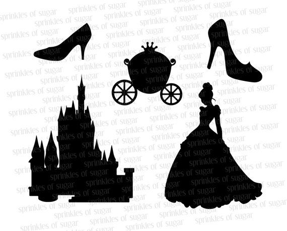 25+ best ideas about Cinderella Silhouette on Pinterest.