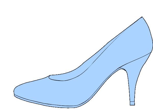 Blue Shoe Clip Art at Clker.com.