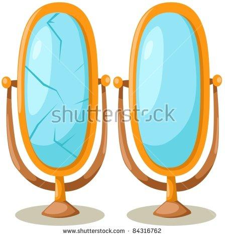 Shattered Mirror Stock Vectors, Images & Vector Art.