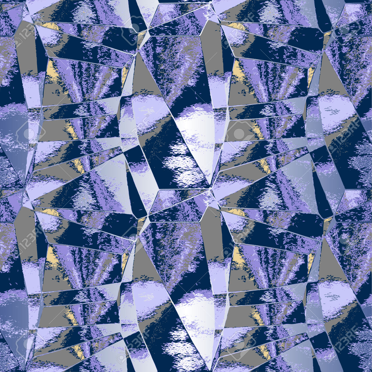 Abstract Background Resembling Mirrored Glass Shards Royalty Free.