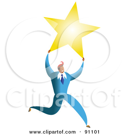 Clipart of a Stained Glass Star Background.