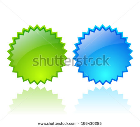 Vector Glass Star Shapes Stock Vector 102274498.