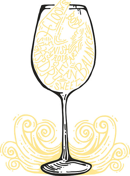 Wine Glass Stems Clip Art, Vector Images & Illustrations.