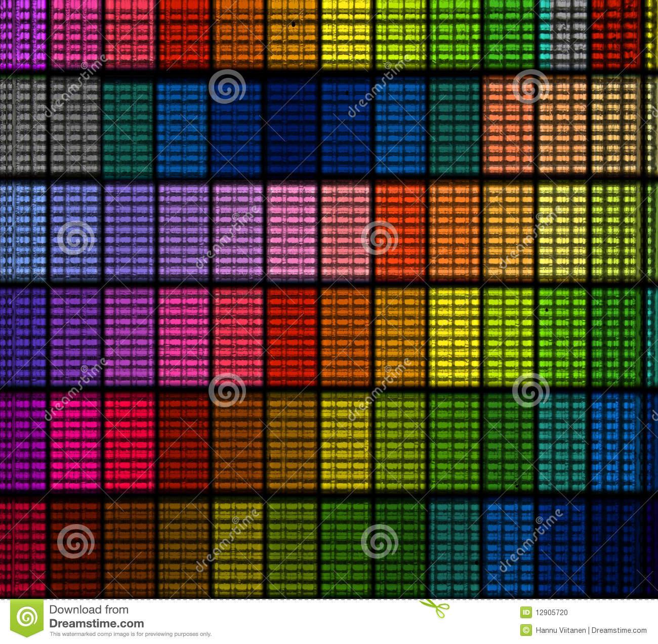Tile Color Clipart.