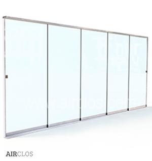 High Quality Sliding Glass Walls Airclos E.