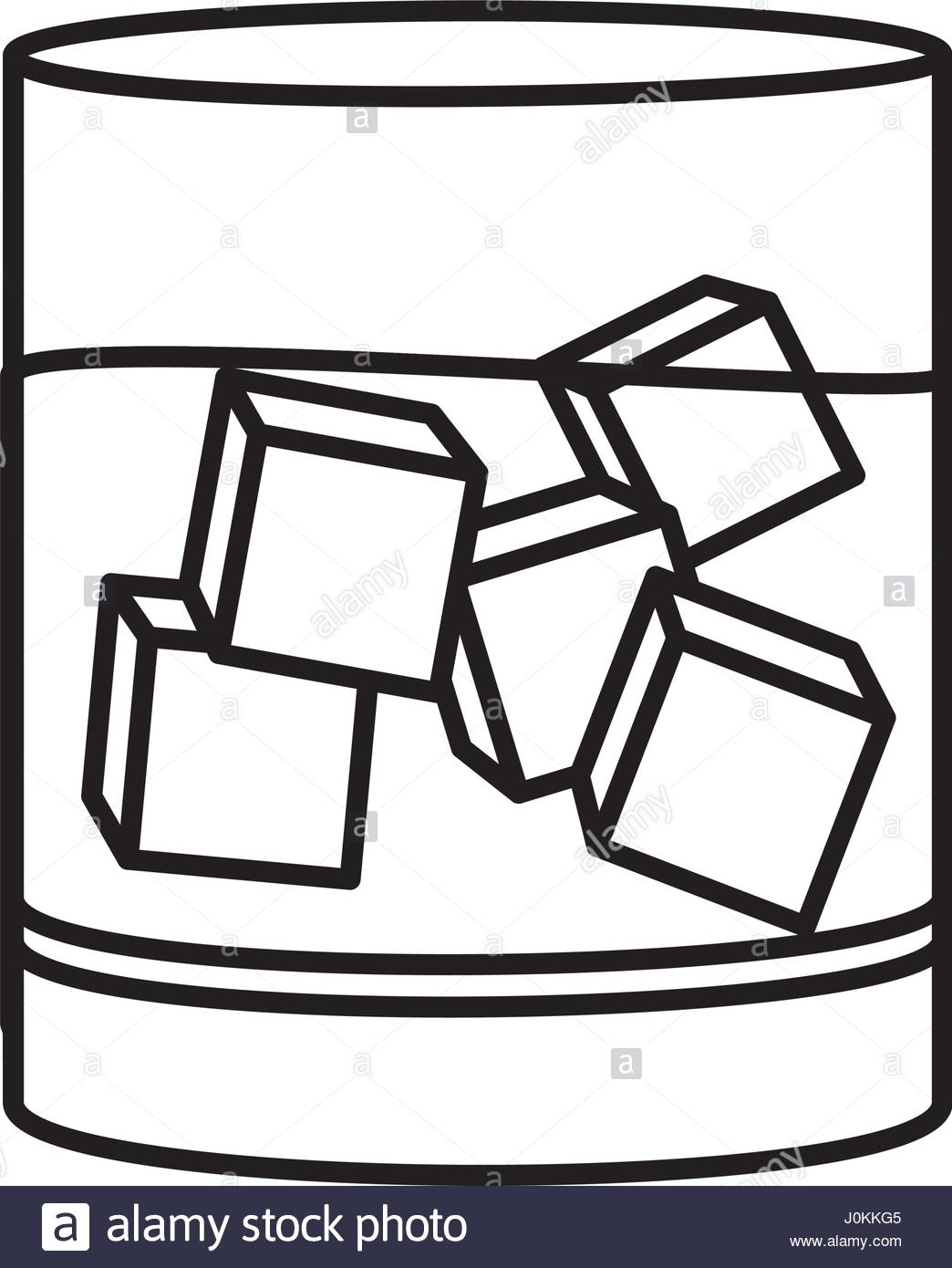 Ice Cubes Clipart.