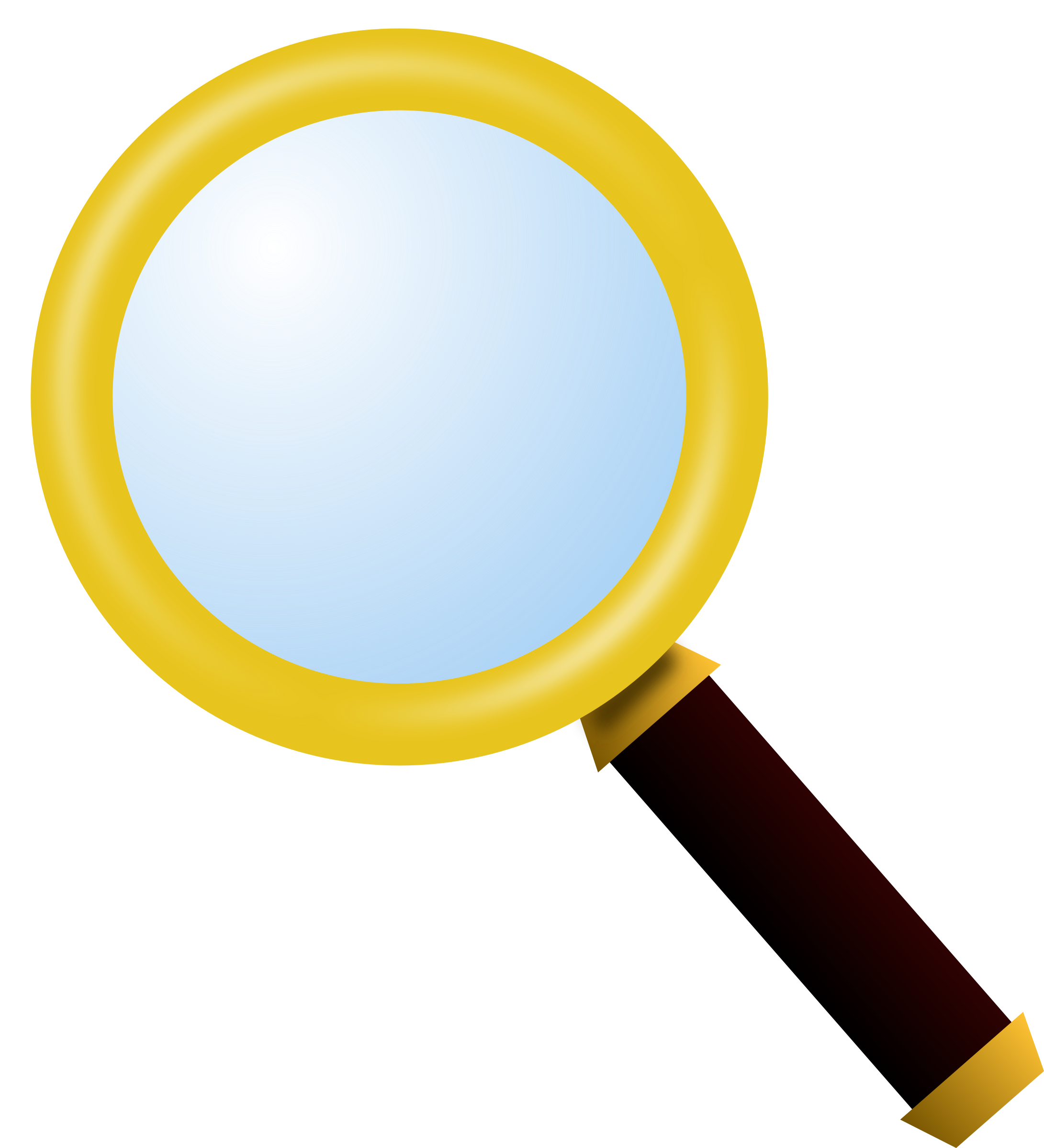 Magnifying glass magnify glass clip art at vector clip art 3.