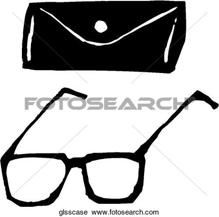 Clipart of Glasses/Case glsscase.