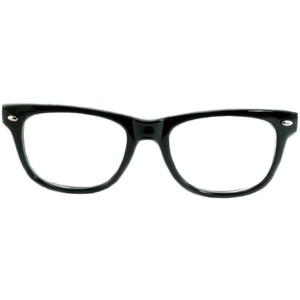 Square Nerd Glasses Clipart.