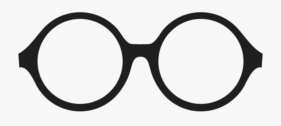 Round Glasses Frames Clipart.
