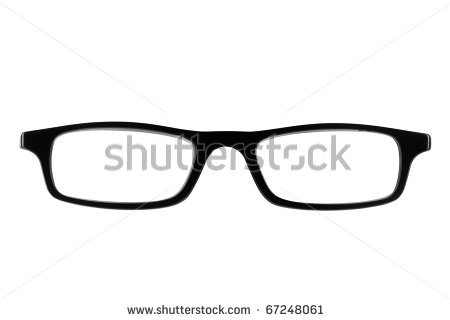 Glasses Frame Clipart.