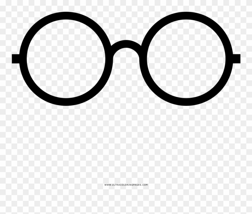 Collection Of Harry Potter Glasses Coloring Pages.