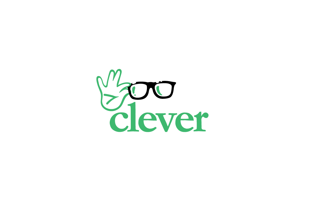 Clever—Glasses Logo Design.