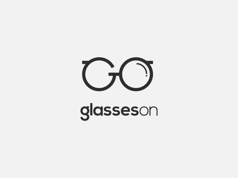 Glasses On: Logo Design by Holy Affair on Dribbble.
