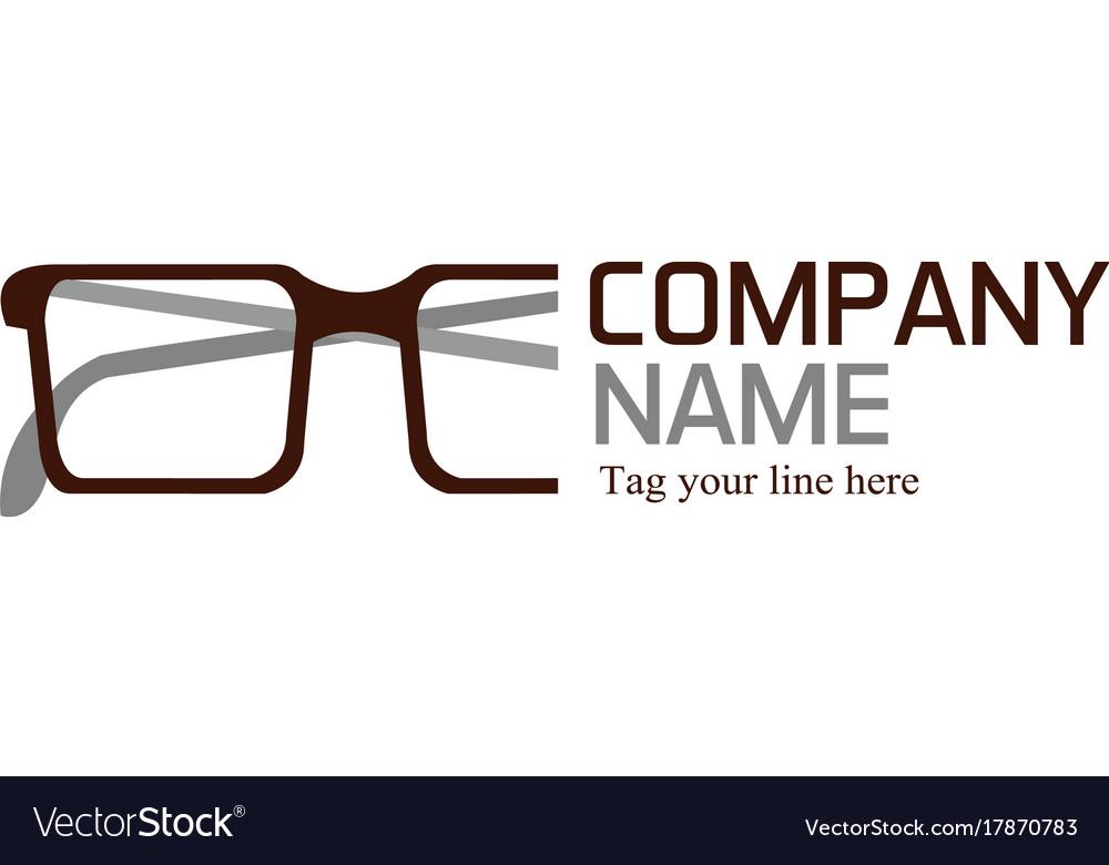 Glasses logo.