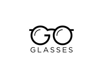 Go Glasses logo design.