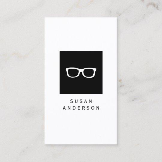 Eye Glasses Logo Business Card.