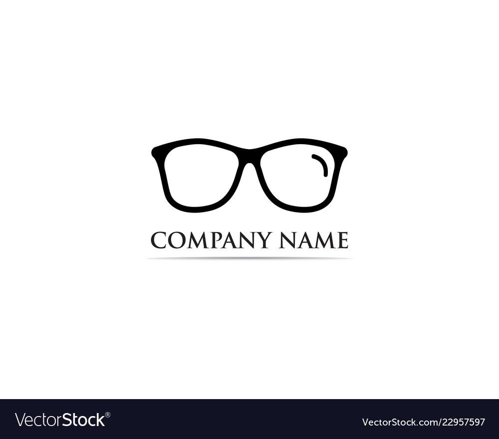 Glasses logo design.