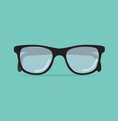 Trendy sun glasses vector illustration.