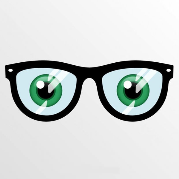 Free Clipart Glasses Eyes.