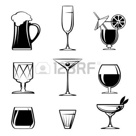 18,200 Glassware Stock Vector Illustration And Royalty Free.