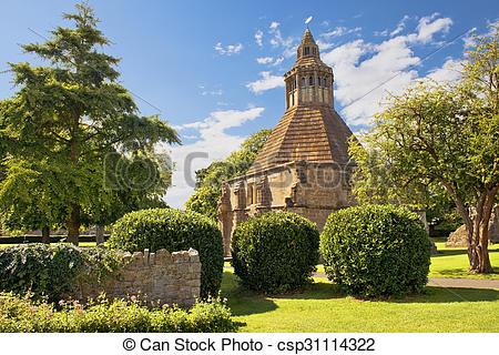 Stock Photo of kitchen abbot of Glastonbury Abbey, Somerset.
