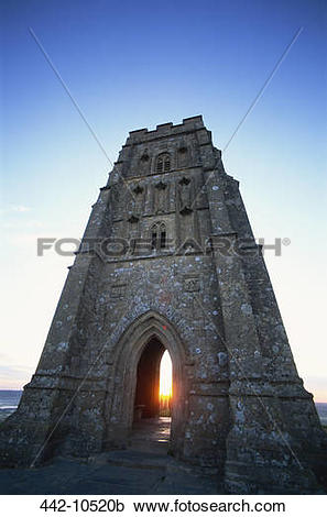 Stock Photography of Low angle view of a tower, St. Michael's.