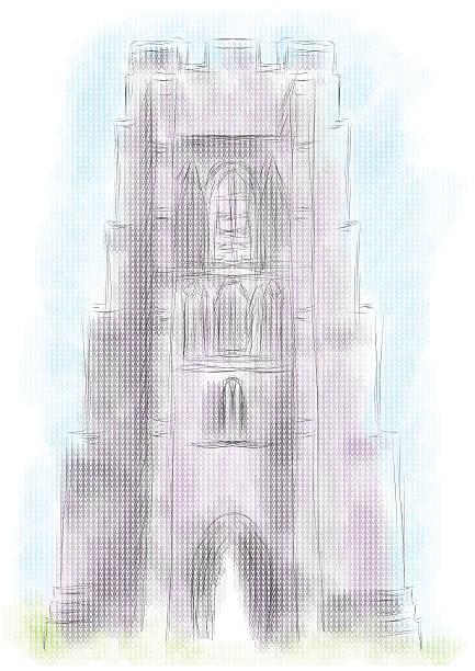Glastonbury Tor Clip Art, Vector Images & Illustrations.