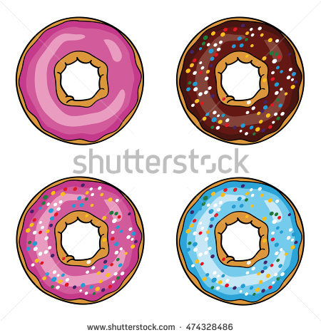 Donut Picture Stock Photos, Royalty.