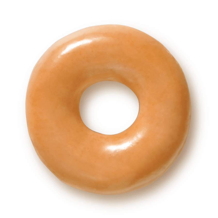 Glazed donut clipart.