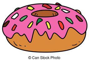 Glazed donut Vector Clipart Royalty Free. 2,043 Glazed donut clip.