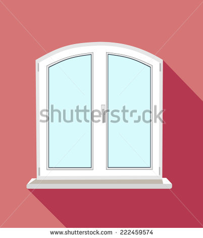 Double Glazed Door Stock Vectors & Vector Clip Art.