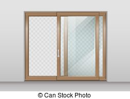 Glazed door Vector Clipart Royalty Free. 74 Glazed door clip art.