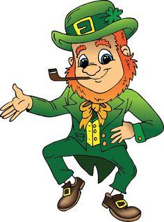 Saint Patrick's Day Happy Mouse.