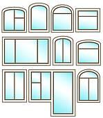 Double Glazing Clip Art.