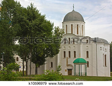Stock Photograph of The Cathedral of Sts Boris and Gleb,Chernihiv.