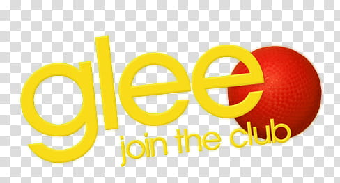 Glee, Glee text overlay transparent background PNG clipart.