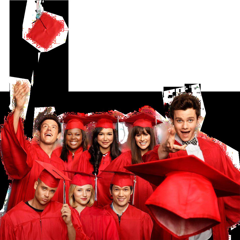 Grad Party Inspiration, Glee Graduation by PortalGleek on deviantART.