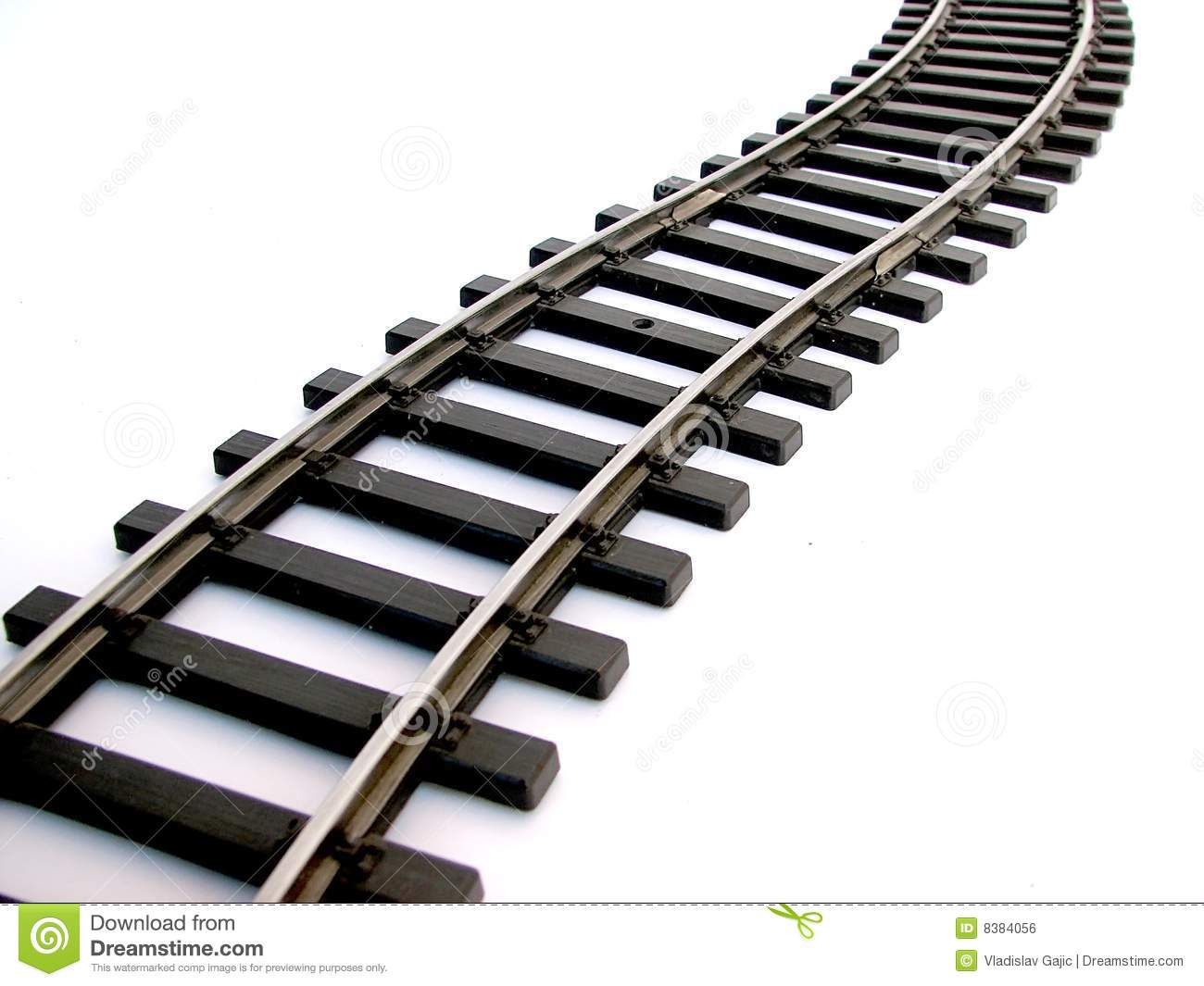 Train rail clipart.