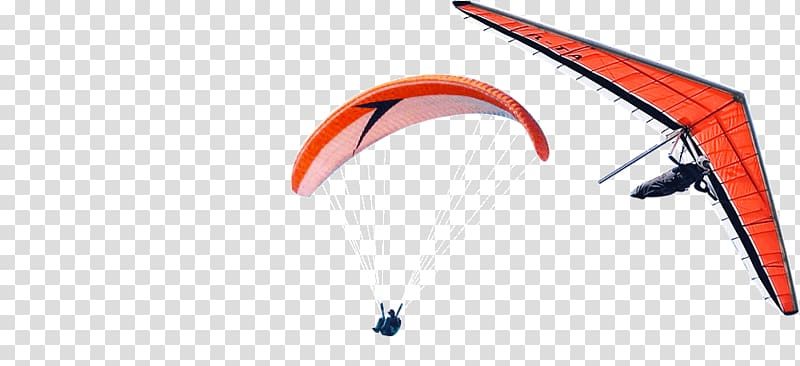 Paragliding Wing Hang gliding Gleitschirm Aircraft, aircraft.