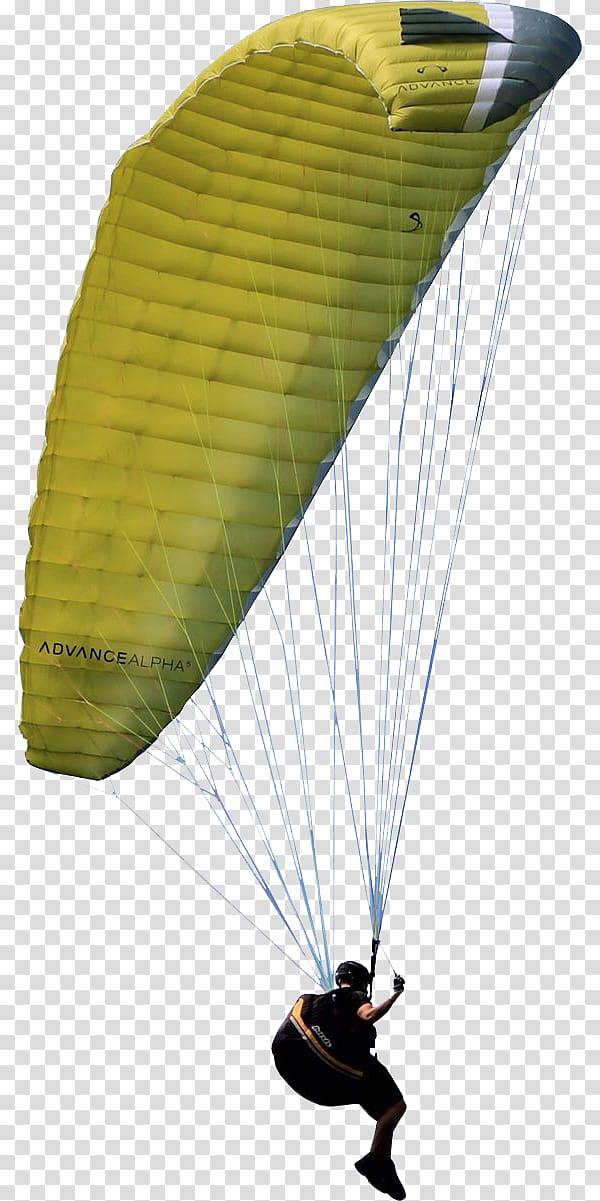 Man riding parachute art, Paragliding No Ga, Gliding.