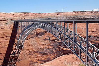 Glen Canyon Dam Bridge Stock Photos, Images, & Pictures.