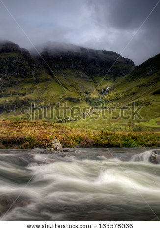 Glen Coe Stock Photos, Royalty.