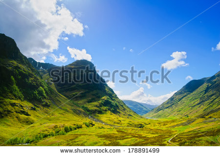 Glencoe Stock Photos, Royalty.