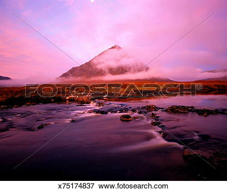 Picture of Scotland, Highland, Glencoe, Buchaille Etive Mor.