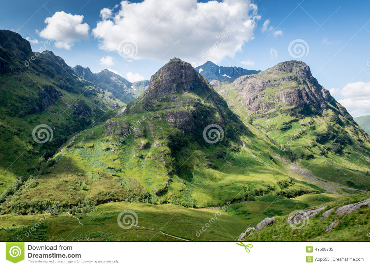 Glencoe, Scotland Stock Photo.