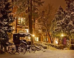Christmas in Colorado Springs.