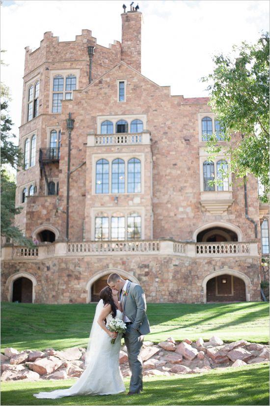 Colorado Wedding At Glen Eyrie Castle.