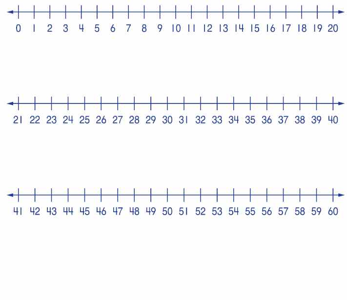 It is an image of Wild Number Line to 100 Printable